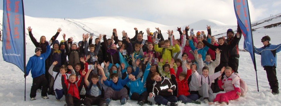 Grantown Primary enjoying a great day out on the slopes!